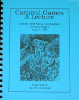 CARNIVAL GAMES--A LECTURE