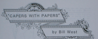 CAPERS WITH PAPERS