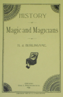 HISTORY OF MAGIC AND MAGICIANS