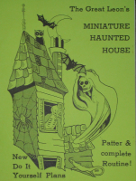 MINIATURE HAUNTED HOUSE