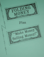 FOLDING MONEY BOOK VOL. 1