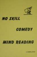 NO SKILL COMEDY MIND READING