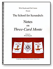 NOTES ON THREE-CARD MONTE