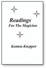 READINGS FOR THE MAGICIAN