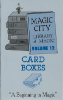 LIBRARY OF MAGIC VOL. 12--CARD BOXES