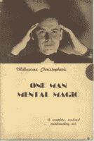 ONE MAN MENTAL MAGIC