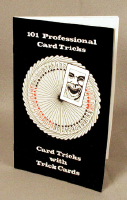 101 PROFESSIONAL CARD TRICKS--CARD TRICKS WITH TRI