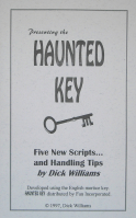 PRESENTING THE HAUNTED KEY