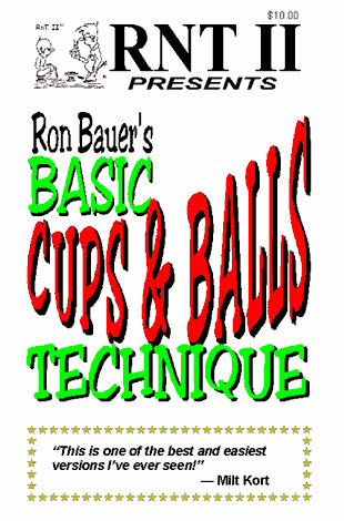 BASIC CUPS & BALLS TECHNIQUE