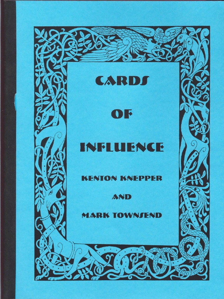 CARDS OF INFLUENCE