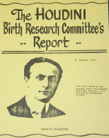 HOUDINI BIRTH RESEARCH COMMITTEE'S REPORT