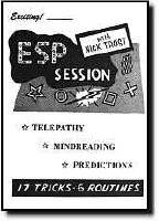 E.S.P. SESSION WITH NICK TROST