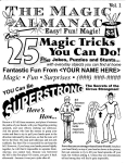 HOW TO MAKE MONEY WITH THE MAGIC ALMANAC