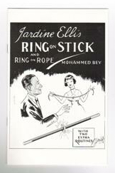 JARDINE ELLIS RING ON STICK AND RING ON ROPE