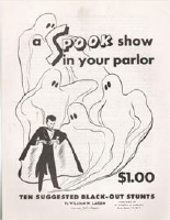 SPOOK SHOW IN YOUR PARLOR
