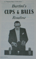 BURTINI'S CUPS & BALLS ROUTINE