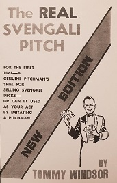 REAL SVENGALI PITCH