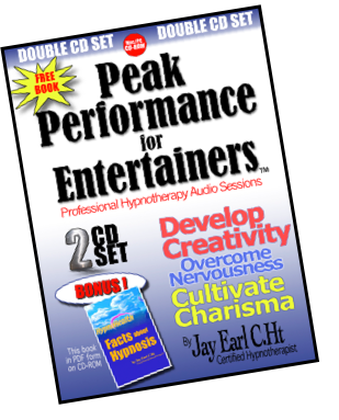 PEAK PERFORMANCE FOR ENTERTAINERS--2 CD SET