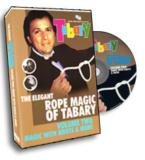 ELEGANT ROPE MAGIC OF TABARY VOL. 2--MAGIC WITH KN
