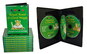 ROYAL ROAD TO CARD MAGIC--4 DVD SET