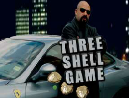STREET MONTE: THREE SHELL GAME