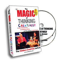 MAGIC OF THINKING CREATIVELY--2 DVD SET