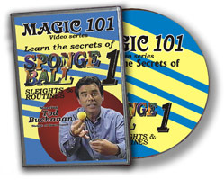 MAGIC 101--SPONGE BALL 1