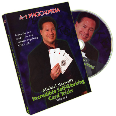 INCREDIBLE SELF-WORKING CARD TRICKS VOL. 6
