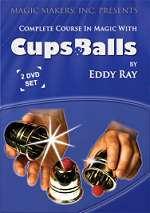COMPLETE COURSE IN CUPS & BALLS--2 DVD SET