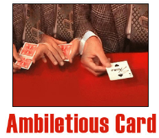 AMBELITIOUS CARD