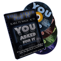 YOU ASKED FOR IT--RARE TV MAGIC ACTS--4 DVD SET