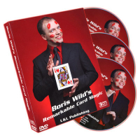 REMARKABLE CARD MAGIC OF BORIS WILD--3 DVD SET