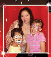 FACE PAINTING WITH CARMEN