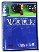 AMAZING EASY TO LEARN MAGIC TRICKS--CUPS & BALLS