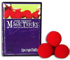 AMAZING EASY TO LEARN MAGIC TRICKS--SPONGE BALLS