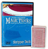 AMAZING EASY TO LEARN MAGIC TRICKS--STRIPPER DECK