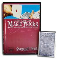 AMAZING EASY TO LEARN MAGIC TRICKS--SVENGALI DECK