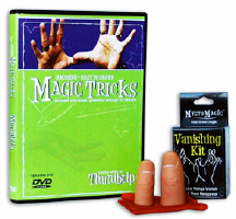 AMAZING EASY TO LEARN MAGIC TRICKS--THUMBTIP