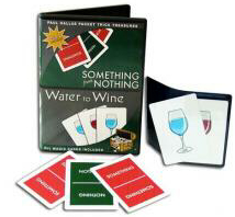 SOMETHING FROM NOTHING & WATER TO WINE