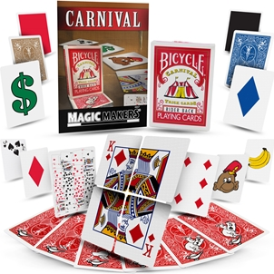 CARNIVAL TRICK CARDS W/DECK