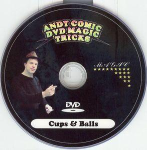 CUPS & BALLS--DVD ONLY
