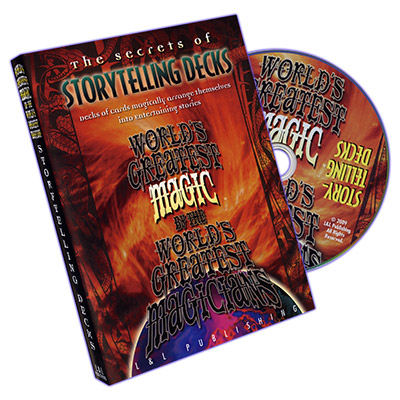 WORLD'S GREATEST MAGIC--STORYTELLING DECKS