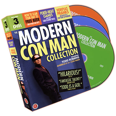 MODERN CON MAN--3 DVD SET