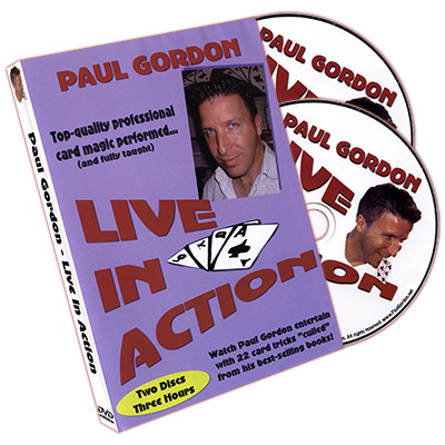 LIVE IN ACTION--2 DVD SET