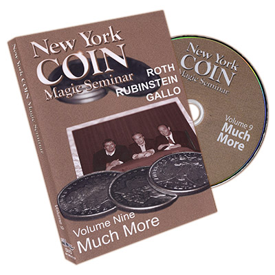 NEW YORK COIN MAGIC SEMINAR VOL.   9