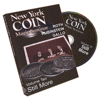 NEW YORK COIN MAGIC SEMINAR VOL.  10