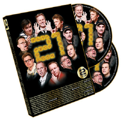21 - MAGIC BY SWEDEN--2 DVD SET