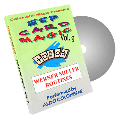 ESP CARD MAGIC VOL.  9--WERNER MILLER ROUTINES