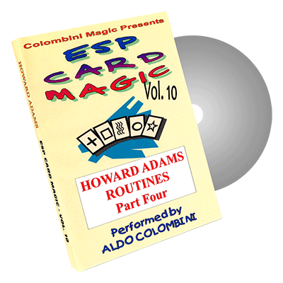 ESP CARD MAGIC VOL. 10--HOWARD ADAMS ROUTINES, PART 4