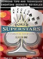 POKER SUPERSTARS SEASON 1--4 DVD SET